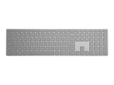 MICROSOFT SURFACE KEYBOARD BLUETOOTH WITH FINGERPRINT RECOGNITION - GREY