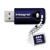 Integral INFD8GCRYDL3.0140-2 USB flash drive 8 GB USB Type-A 3.2 Gen 1 (3.1 Gen 1) Blue