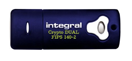 Integral INFD2GCRYPTODL140-2 USB flash drive 2 GB USB Type-A 2.0 Blue