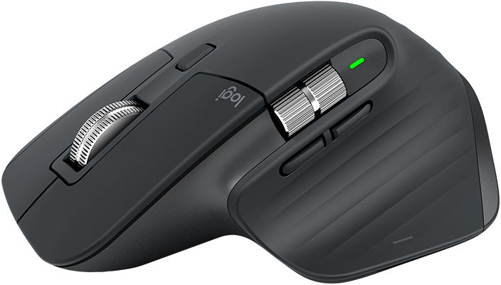 LOGITECH MX MASTER 3 MOUSE RF WIRELESS+BLUETOOTH LASER 4000 DPI RIGHT-HAND