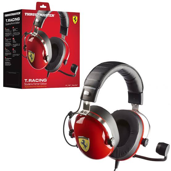 Thrustmaster T.Racing Scuderia Ferrari Edition  (XB1/PC/PS4) Headset