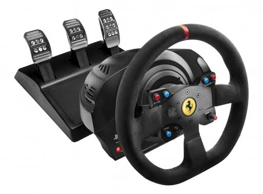 Thrustmaster Ferrari Alcantara Race Bundle (XB1/PC/PS4/PS3)
