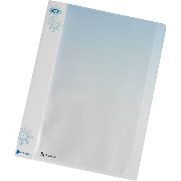 Rexel ICE A4 Display Book 40 Pockets Clear