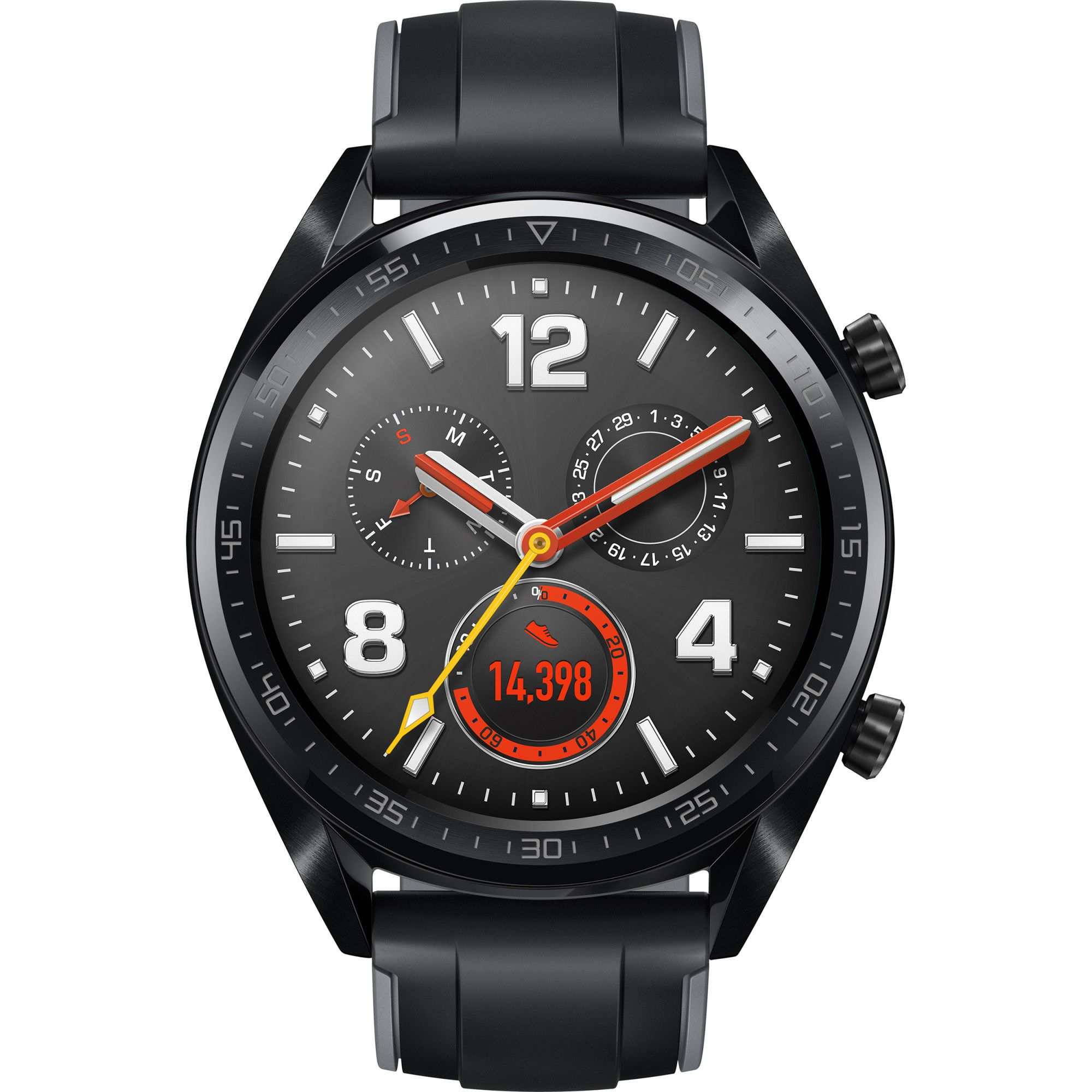 Huawei Watch GT smartwatch Black AMOLED 3.53 cm (1.39