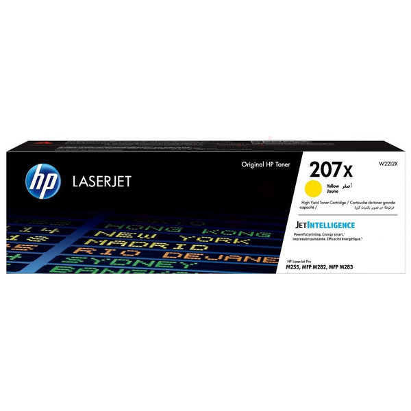 HP W2212X (207X) Toner yellow, 2.45K pages
