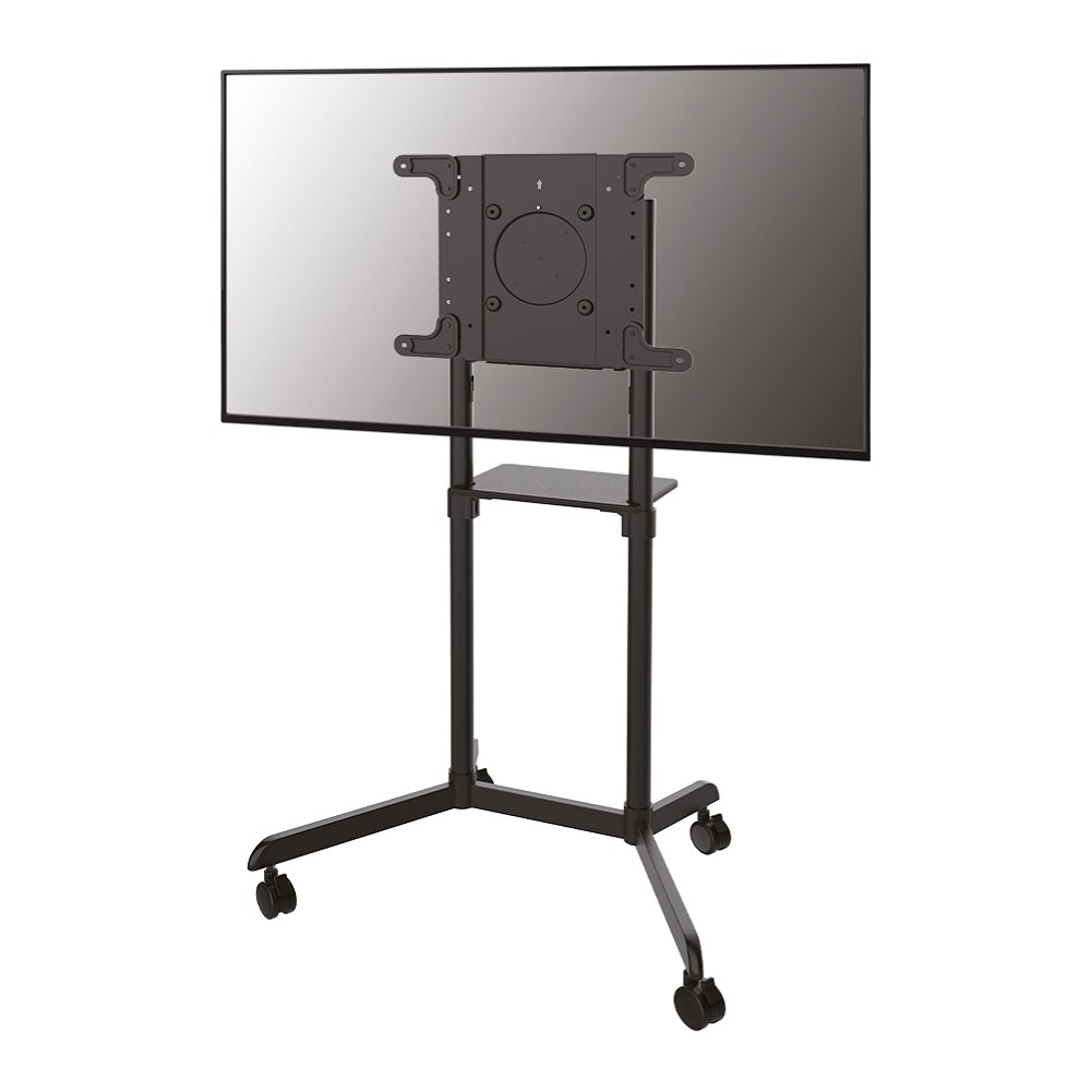 Newstar 32-70 inch - Mobile Flat Screen Floor Stand (stand+trolley) (height: 160cm) Black