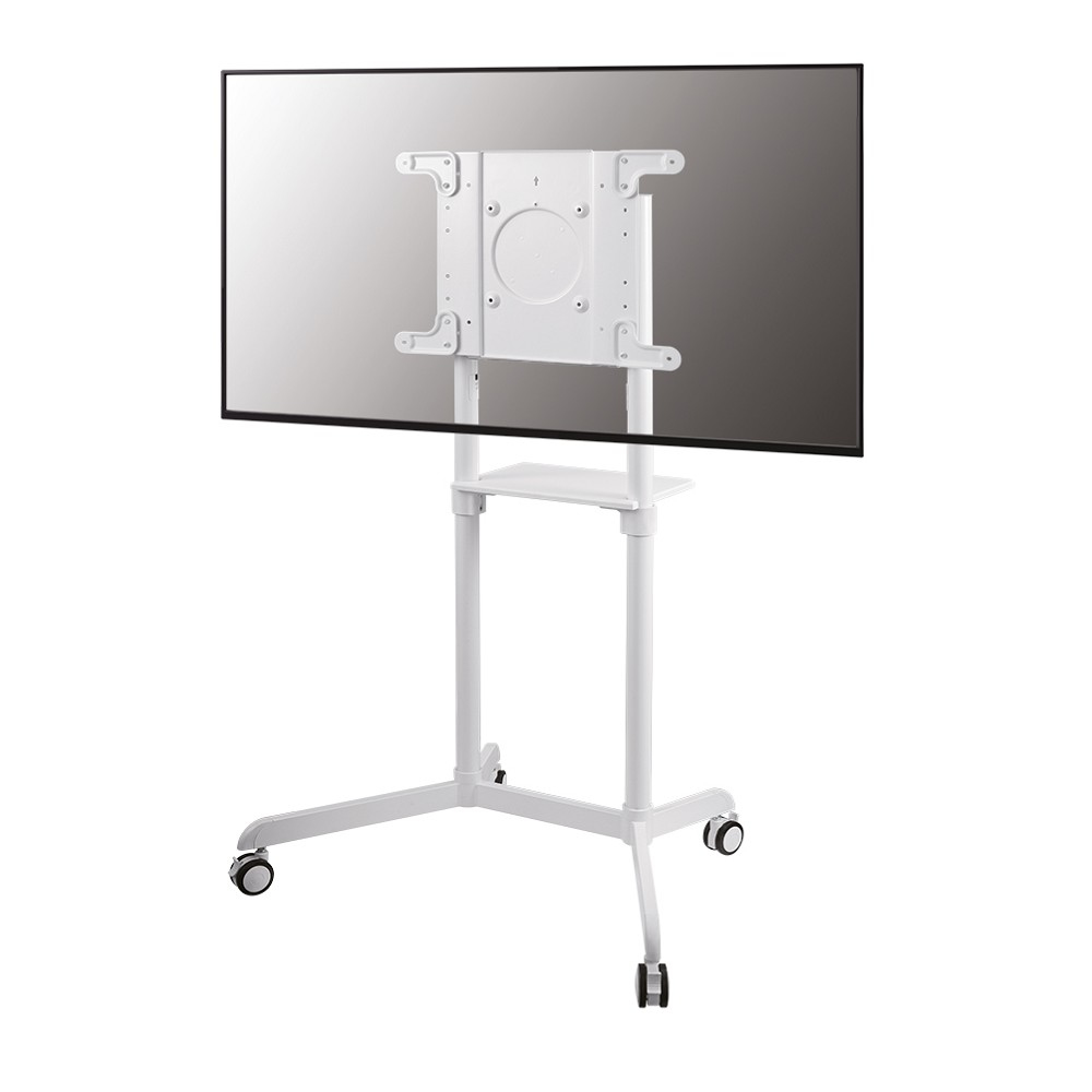 Newstar 32-70 inch - Mobile Flat Screen Floor Stand (stand+trolley) (height: 160 cm) White