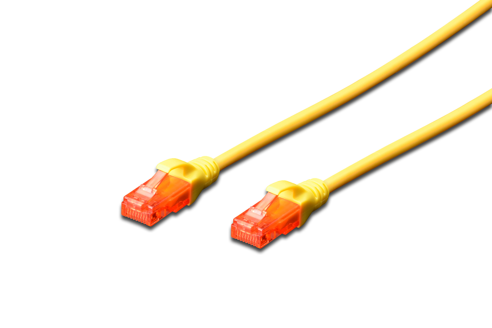 DIGITUS DK-1617-005/Y 0.5M CAT6 UTP NETWORKING CABLE U/UTP (UTP) YELLOW