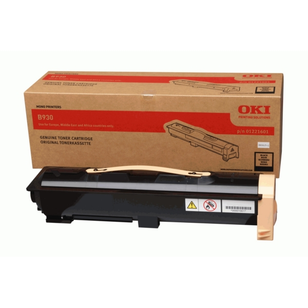 OKI 1221601 01221601 TONER BLACK, 33K PAGES