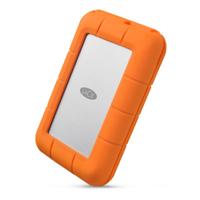 LACIE STGW4000800 RUGGED RAID PRO 4000GB GREY, ORANGE EXTERNAL HARD DRIVE
