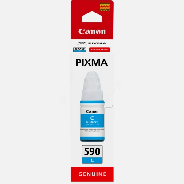 CANON 1604C001 (GI-590 C) INK CARTRIDGE CYAN, 7K PAGES, 70ML