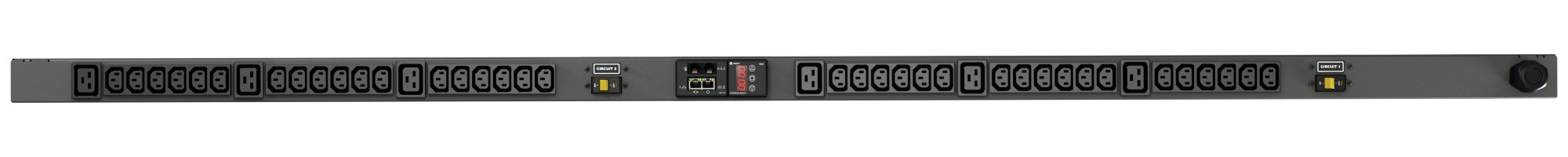 VERTIV VP8853 GEIST RPDU, MONITORED, 0U, INPUT IEC60309 230V 32A, OUTPUTS (36)C13 | (6)C19 POWER DISTRIBUTION UNIT (PDU) BLACK 42 AC OUTLET(S)