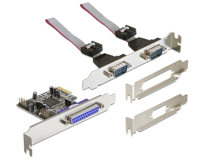 DELOCK 89129 PCI EXPRESS CARD 2 X SERIAL, 1X PARALLEL INTERFACE CARDS/ADAPTER