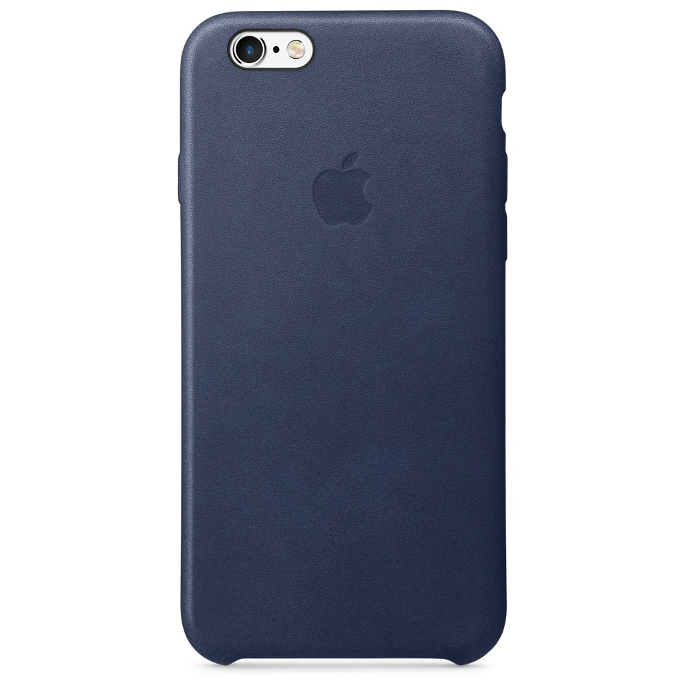 APPLE MKXU2ZM/A IPHONE 6S LEATHER CASE - MIDNIGHT BLUE