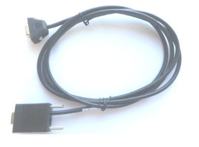 ZEBRA CBL-58918-02 0.7M RS232 DB9 BLACK SERIAL CABLE