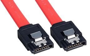 LINDY 33449 0.2M SATA CABLE RED
