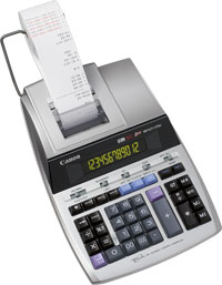 CANON 2496B001 MP1211-LTSC CALCULATOR DESKTOP PRINTING SILVER