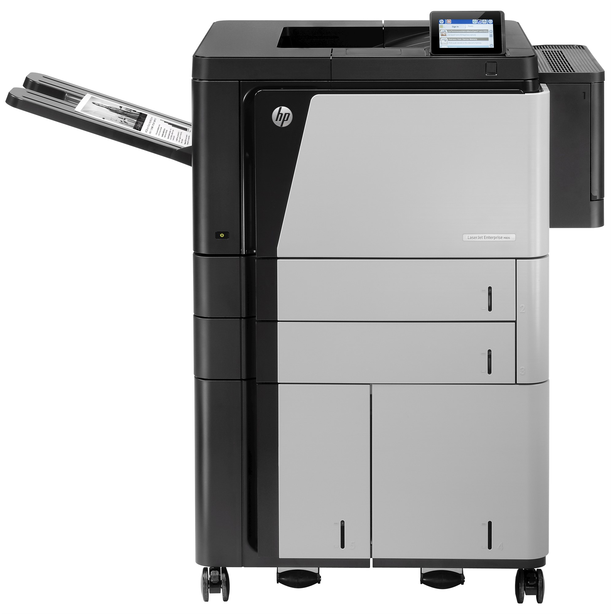 HP CZ245A#B19 LASERJET ENTERPRISE M806X+ PRINTER
