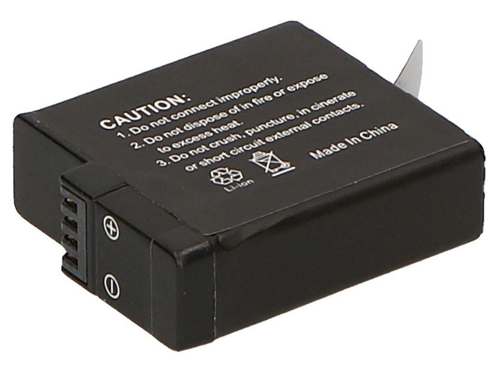 2-POWER DBI1007A ACTION CAMERA BATTERY 3.85V 1250MAH RECHARGEABLE