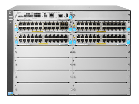 HPE JL001A 5412R 92GT POE+ & 4-PORT SFP+ (NO PSU) V3 ZL2 MANAGED NETWORK SWITCH L3 GIGABIT ETHERNET (10/100/1000) POWER OVER
