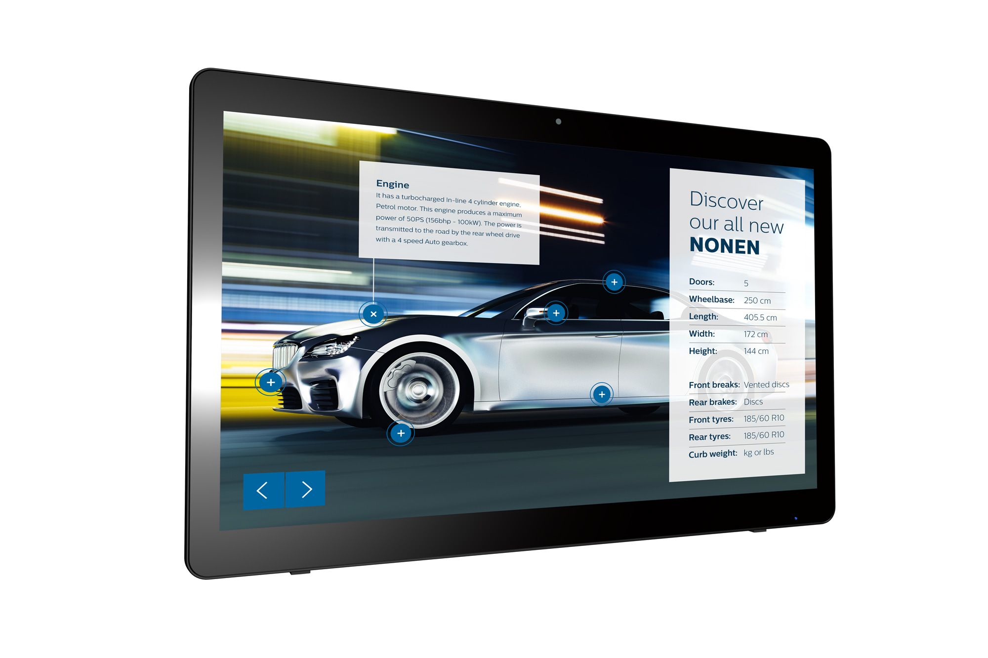 PHILIPS 24BDL4151T/00 SIGNAGE SOLUTIONS MULTI-TOUCH DISPLAY