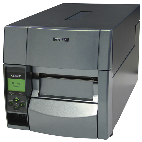 CITIZEN 1000796 CL-S703R DIRECT THERMAL / TRANSFER 300 X 300DPI LABEL PRINTER