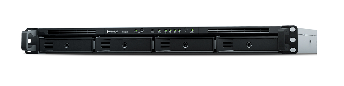 SYNOLOGY RX418/16TB-IW RX418 16TB RACK (1U) BLACK DISK ARRAY