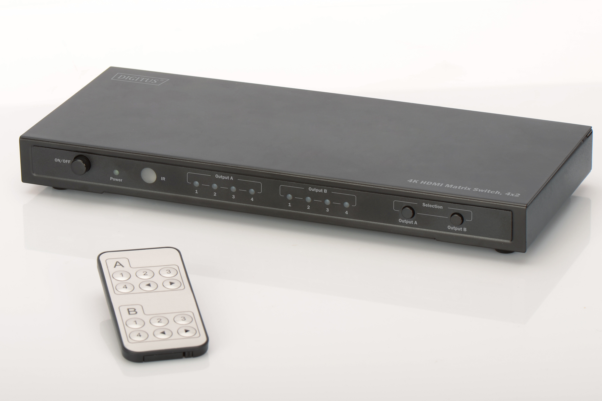 DIGITUS DS-50304 VIDEO SWITCH HDMI
