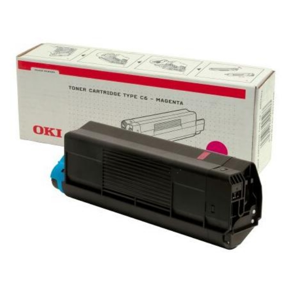 OKI 42127406 TONER MAGENTA, 5K PAGES @ 5% COVERAGE