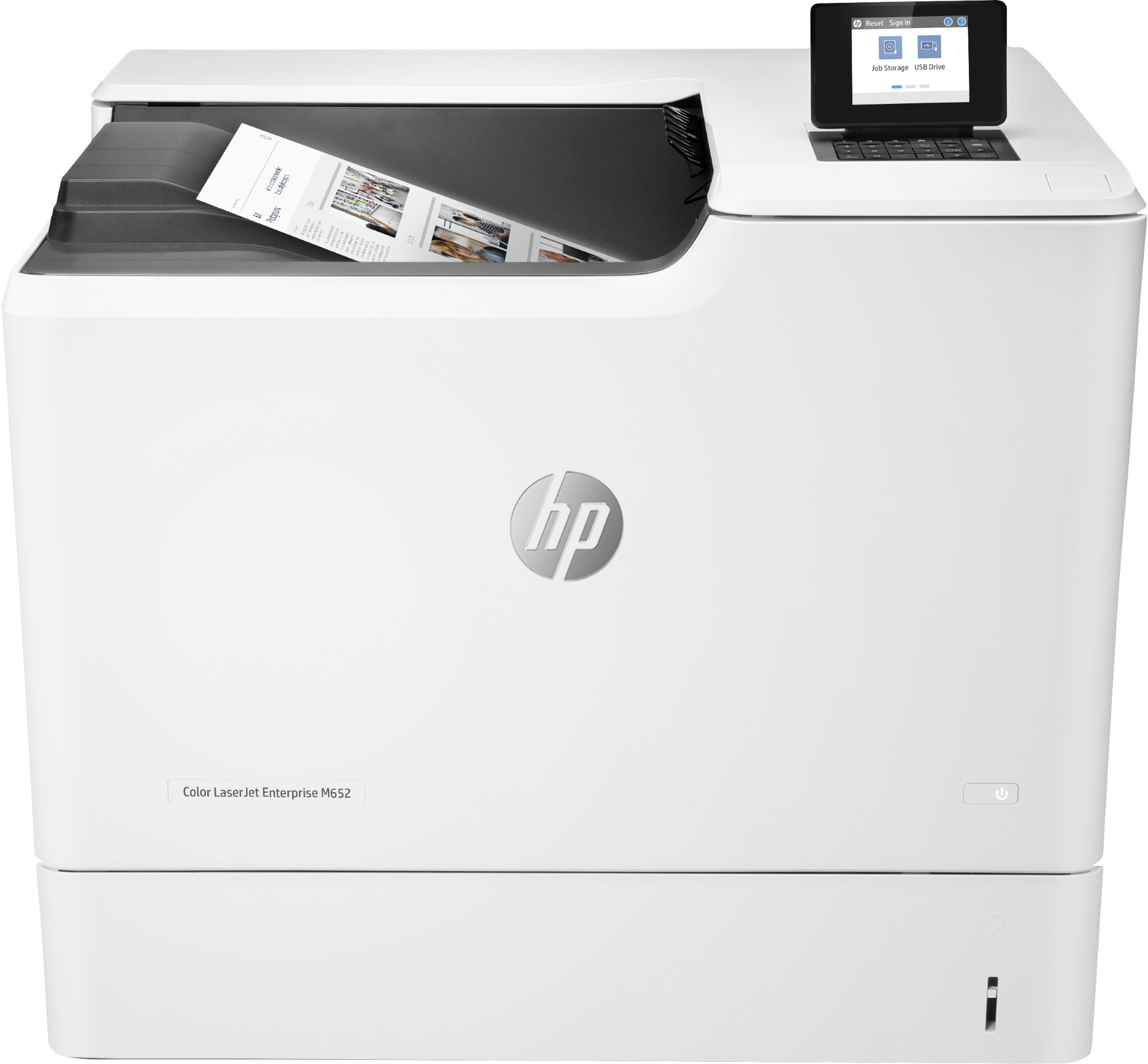 HP J7Z98A#B19 LASERJET ENTERPRISE M652N COLOUR 1200 X 1200DPI A4 WI-FI