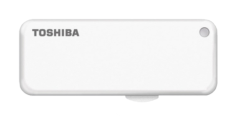 TOSHIBA U203 16GB USB 2.0 TYPE-A CONNECTOR WHITE FLASH DRIVE