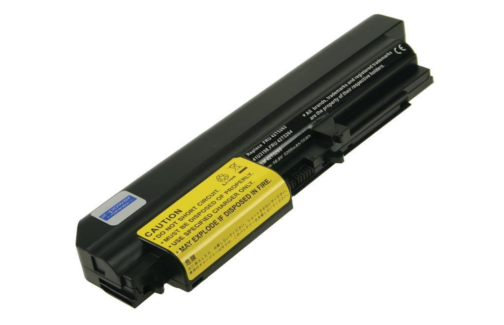 2-POWER CBI3031B 10.8V 5200MAH LI-ION LAPTOP BATTERY RECHARGEABLE