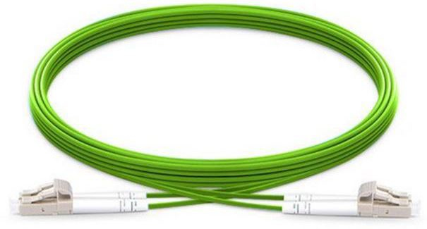 MICROCONNECT FIB5510005 FIBER OPTIC CABLE 0.5 M OM5 LC/UPC GREEN