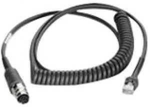 ZEBRA 25-71918-01R SERIAL CABLE BLACK 2.75 M LAN