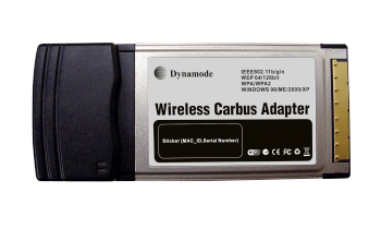 DYNAMODE WL-GI-300-11N WIRELESS 802.11N PCMCIA ADAPTER 300MBIT/S NETWORKING CARD
