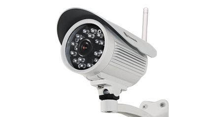 DYNAMODE DYN-615 IP SECURITY CAMERA INDOOR BULLET WHITE 640 X 480PIXELS