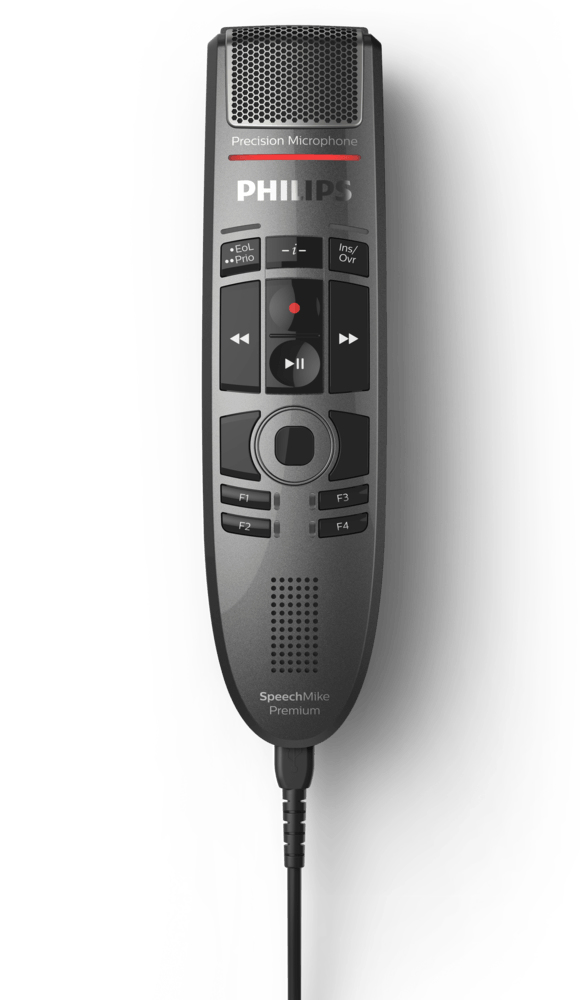 PHILIPS SMP3700/00 SPEECHMIKE PREMIUM TOUCH WIRED BLACK