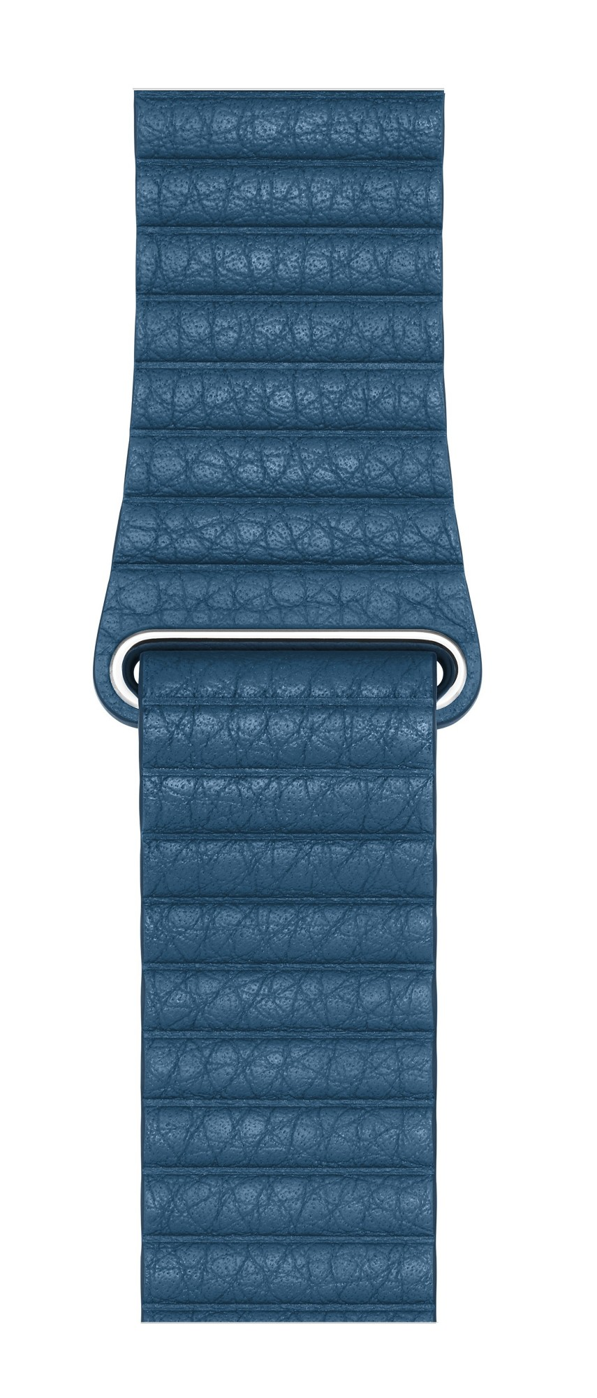APPLE MTH92ZM/A BAND BLUE LEATHER