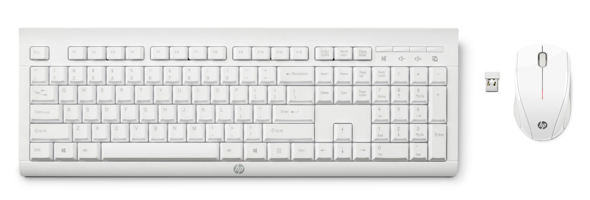 HP M7P30AA#ABB C2710 COMBO KEYBOARD RF WIRELESS QWERTY ENGLISH WHITE