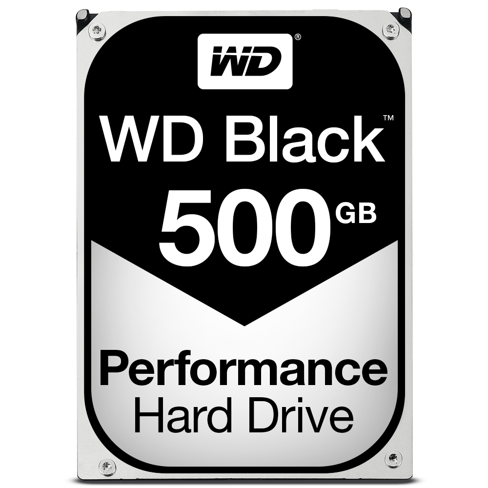 WESTERN DIGITAL BLACK HDD 500GB SERIAL ATA III INTERNAL HARD DRIVE
