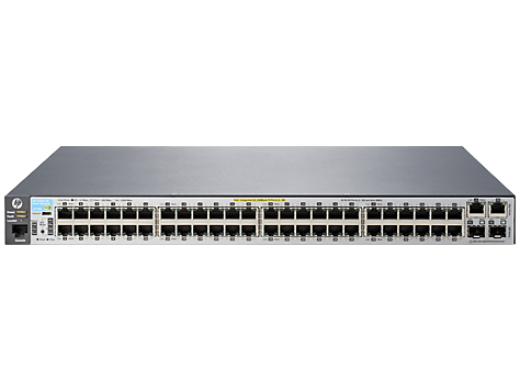 HPE J9778A#ABB ARUBA 2530 48 POE+ MANAGED NETWORK SWITCH L2 FAST ETHERNET (10/100) POWER OVER (POE) 1U GREY