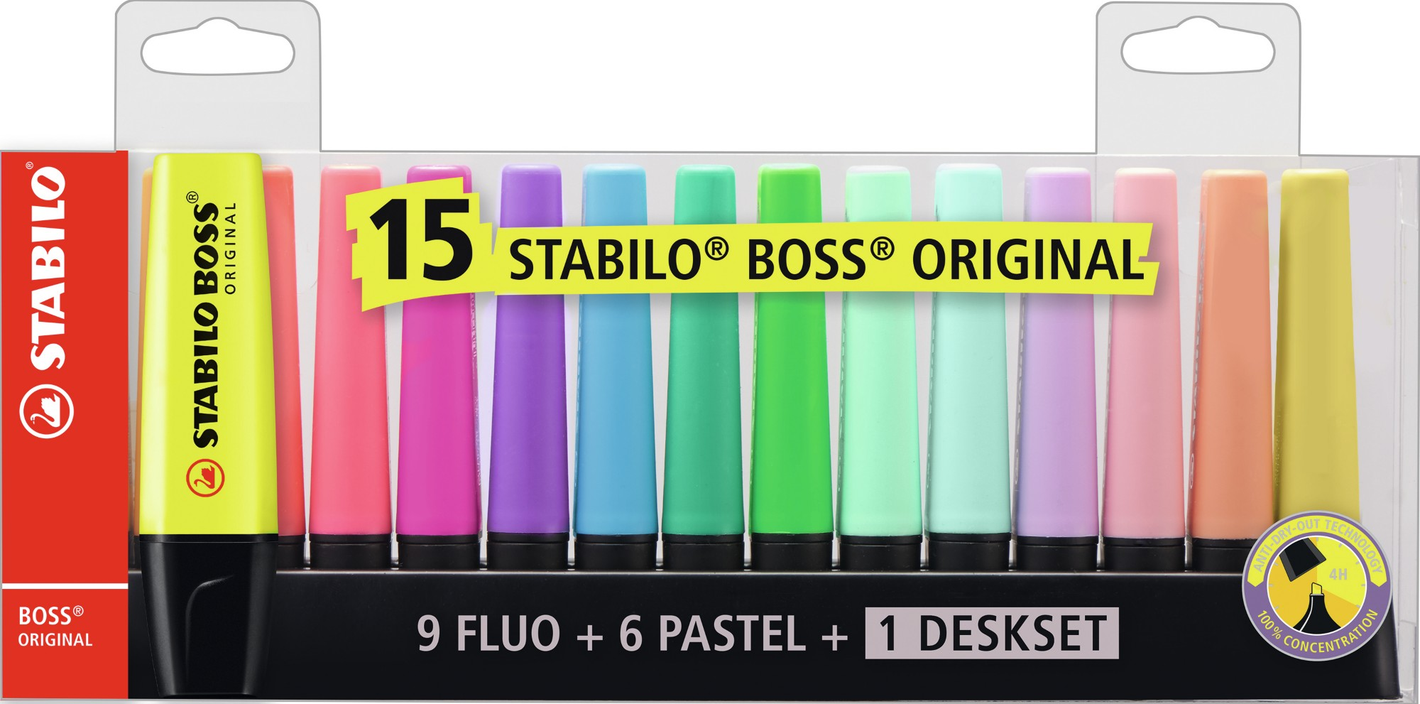 STABILO 1868221 4006381517478 PAINT MARKER MULTICOLOUR 15 PC(S)