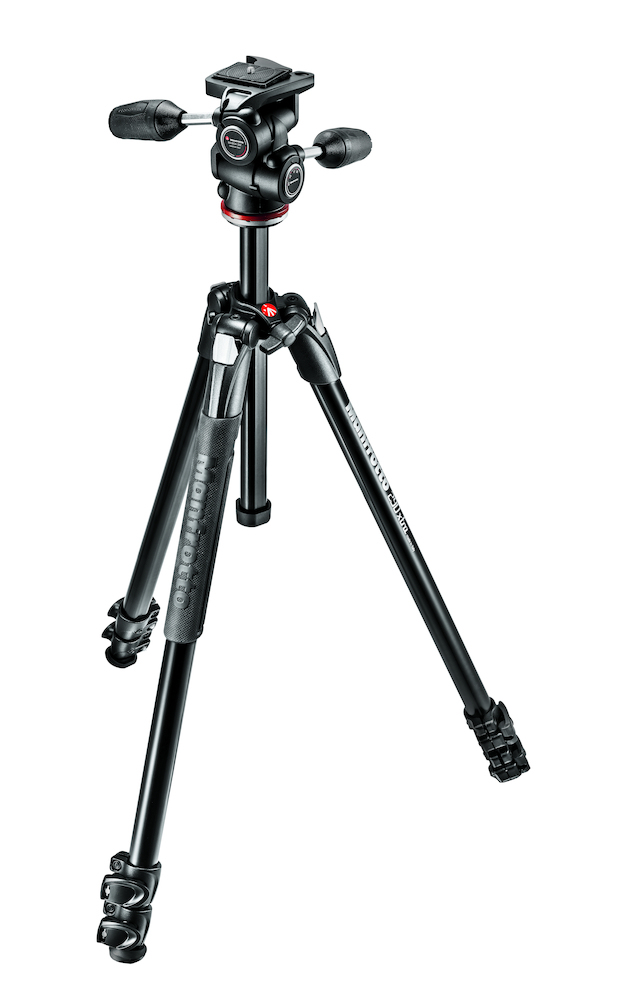 MANFROTTO MK290XTA3-3W DIGITAL/FILM CAMERAS 3LEG(S) BLACK TRIPOD