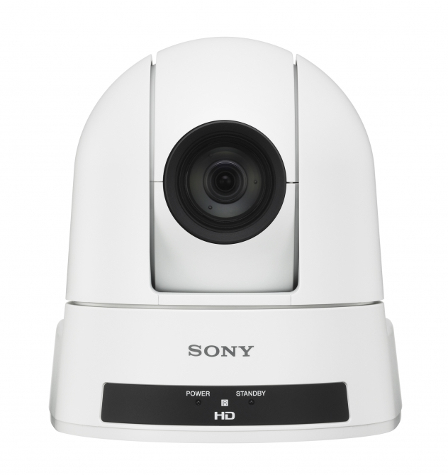 SONY SRG-300HW IP SECURITY CAMERA INDOOR & OUTDOOR DOME WHITE 1920 X 1080PIXELS