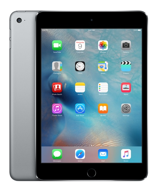 APPLE MK9N2FD/A IPAD MINI 4 128GB GREY TABLET