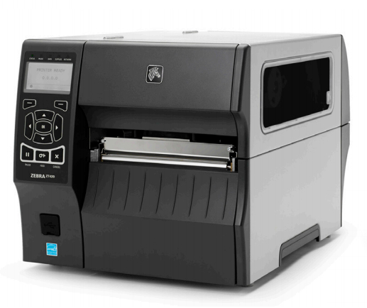 ZEBRA ZT42063-T2E0000Z ZT420 THERMAL TRANSFER LABEL PRINTER