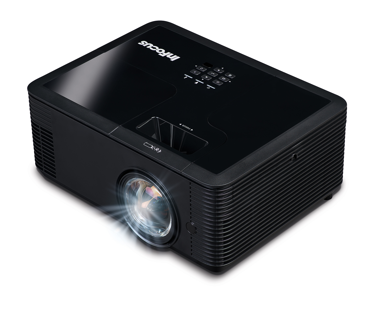 INFOCUS IN138HDST DATA PROJECTOR 4000 ANSI LUMENS DLP 1080P (1920X1080) 3D DESKTOP BLACK