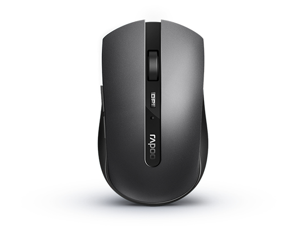 RAPOO 18041 7200M MICE RF WIRELESS+BLUETOOTH AMBIDEXTROUS GREY