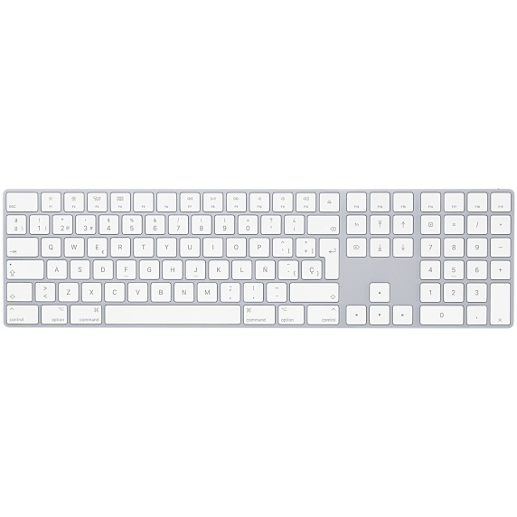 APPLE MQ052Y/A MAGIC BLUETOOTH QWERTY SPANISH WHITE