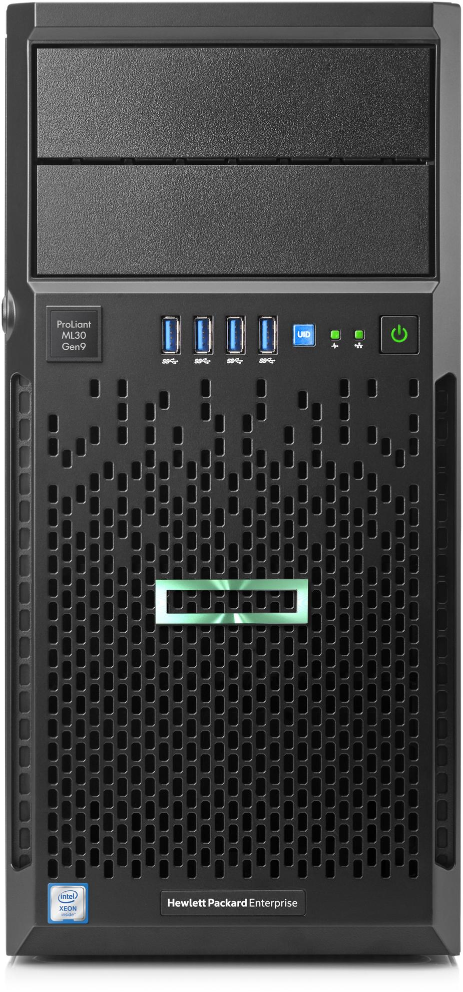 HPE 872658-031 PROLIANT ML30 GEN9 3GHZ E3-1220 V6 350W TOWER (4U) SERVER